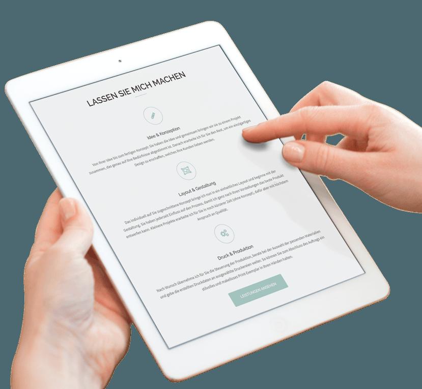 leistungen lia design tablet