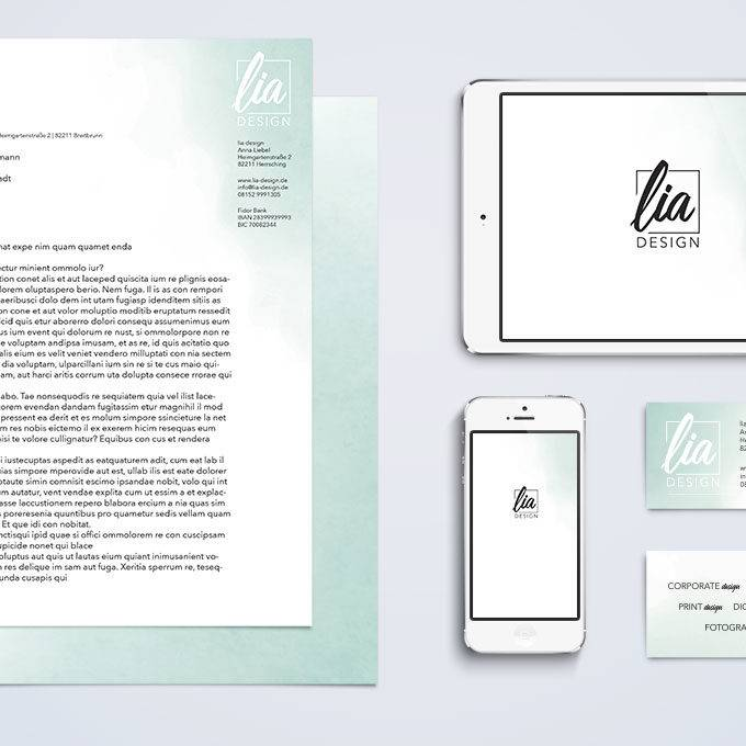 Corporate design von lia design