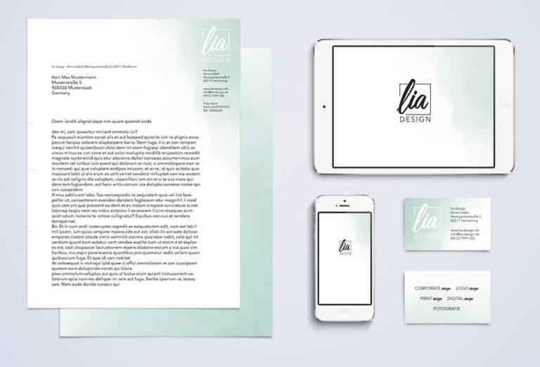 Corporate design von lia design