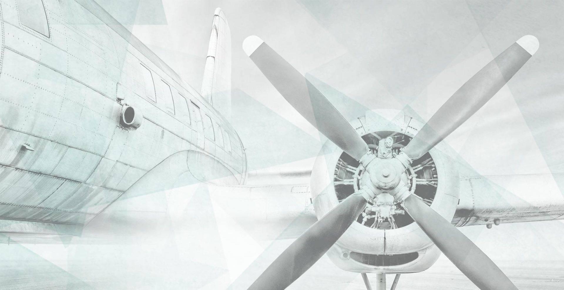 lia design - Angebot für Gründer - Propellerflugzeug