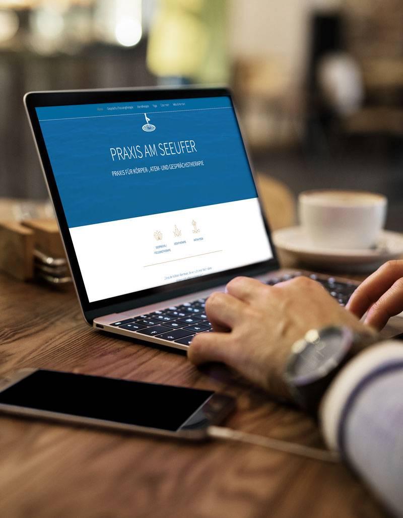 Webdesign für Praxis erstellen lassen