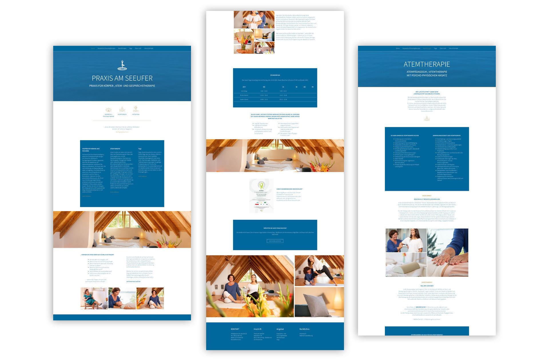 Webdesign für Psychotherapie