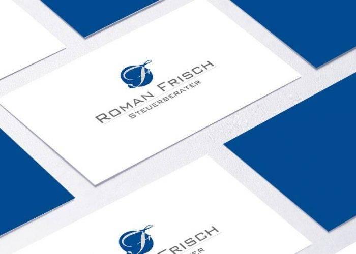 Klassisch reduziertes Logo für Steuerberater