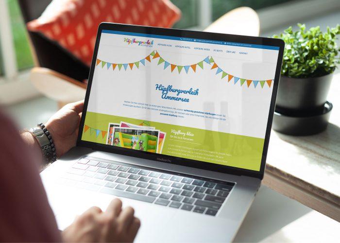 Webdesign Hüpfburgverleih
